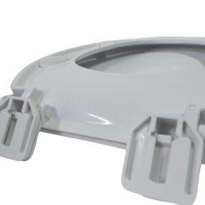 Tapa para baño Venecia Blanco